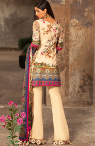 Noor Luxury Lawn'19 by Saadia Asad