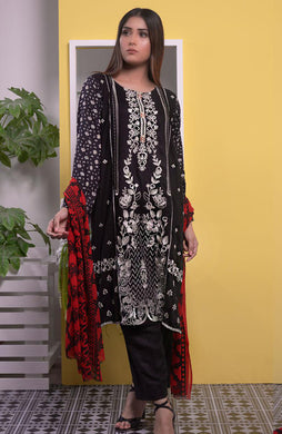 Embroidered Linen Winter'20 by Halima Sultan