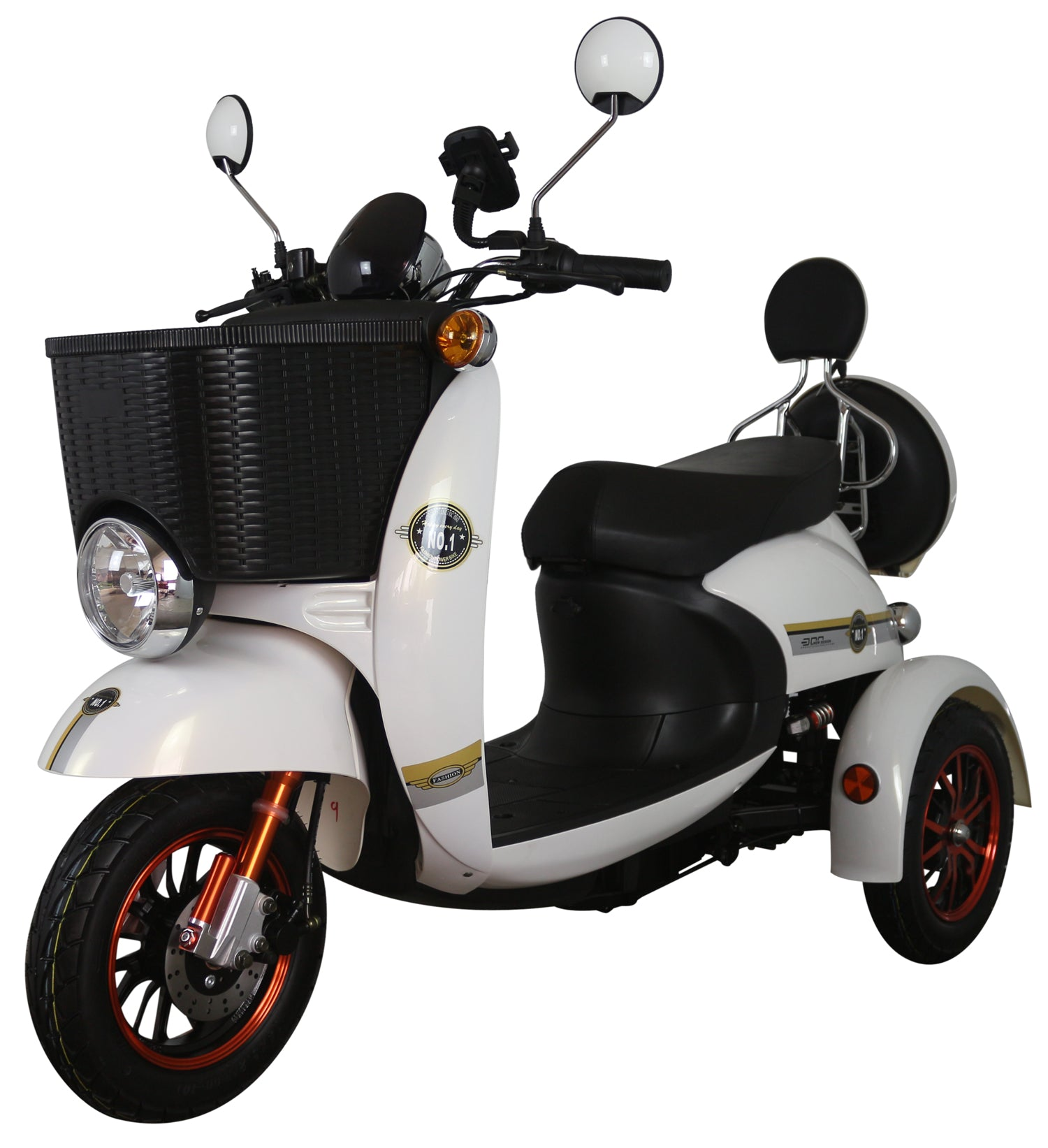 Unique 500 Mod Style Road Legal Long Range Mobility Scooter