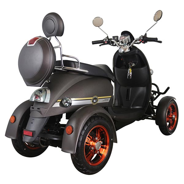 Unique 4 Wheel Mod Style Road Legal Long Range Mobility Scooter