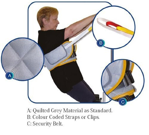 Mackworth Standaid Belt with Loop Attachments