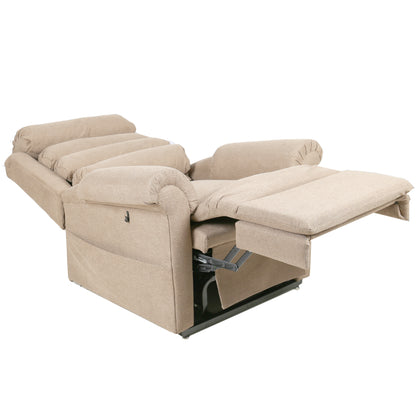 New Pride Merino 670 Dual Motor Riser Recliner Chair Bed
