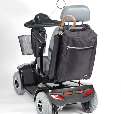 Drive Large Mobility Scooter & Wheelchair Bag With Crutch/Cane Holders
