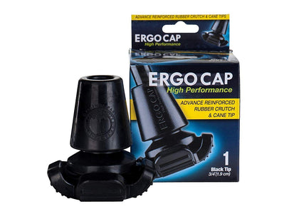 Ergocap® High Performance Crutch Rubber Tip (Universal)