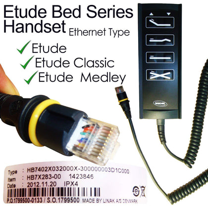 Replacement Handset For Invacare Etude Series Beds