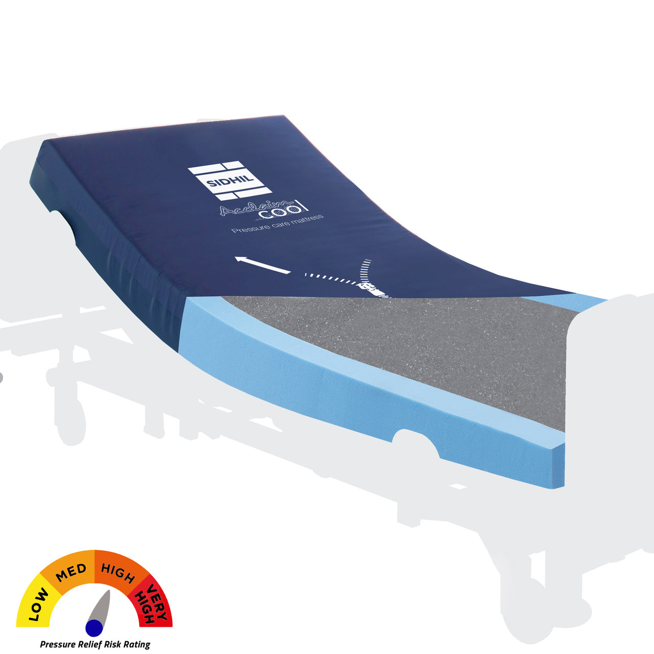 Drive Acclaim Cool 4G Foam Burns Unit Mattress