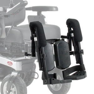 Electric Elevating Footrests for Excel Air Ride Go! Powerchairs