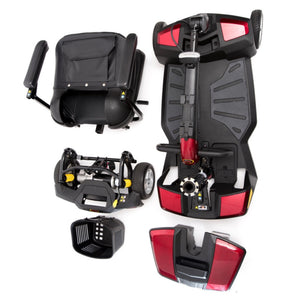 Pride Apex Rapid Full Suspension Boot Scooter