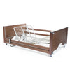 Alerta Lomond Bariatric Profiling Care Bed - Walnut