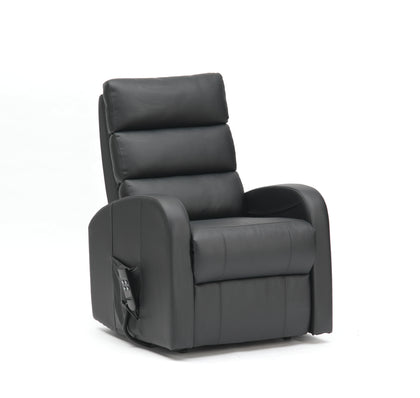Dual Motor Three Tier Waterfall Back Rise & Recliner Armchair - PU