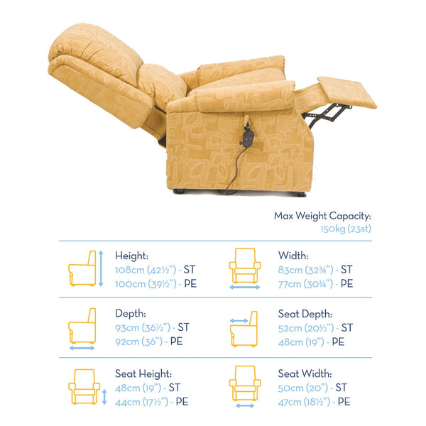Chicago Rise & Recline Armchair