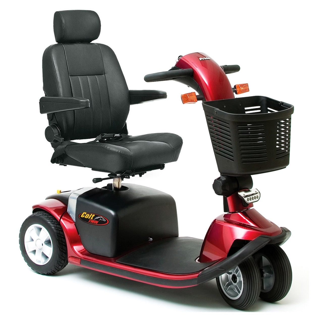 Pride Colt Twin High Seat Mid-Size 4mph Scooter