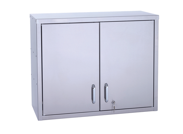 Parry Stainless Lockable Wall Cupboard