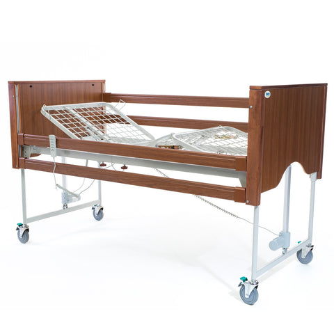 The Encore Classic Walnut Electric Profiling Hospital / Care Bed