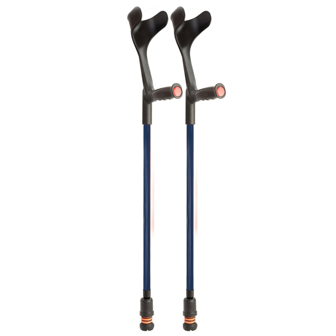 Flexyfoot Open Cuff Soft Grip Fixed Crutch