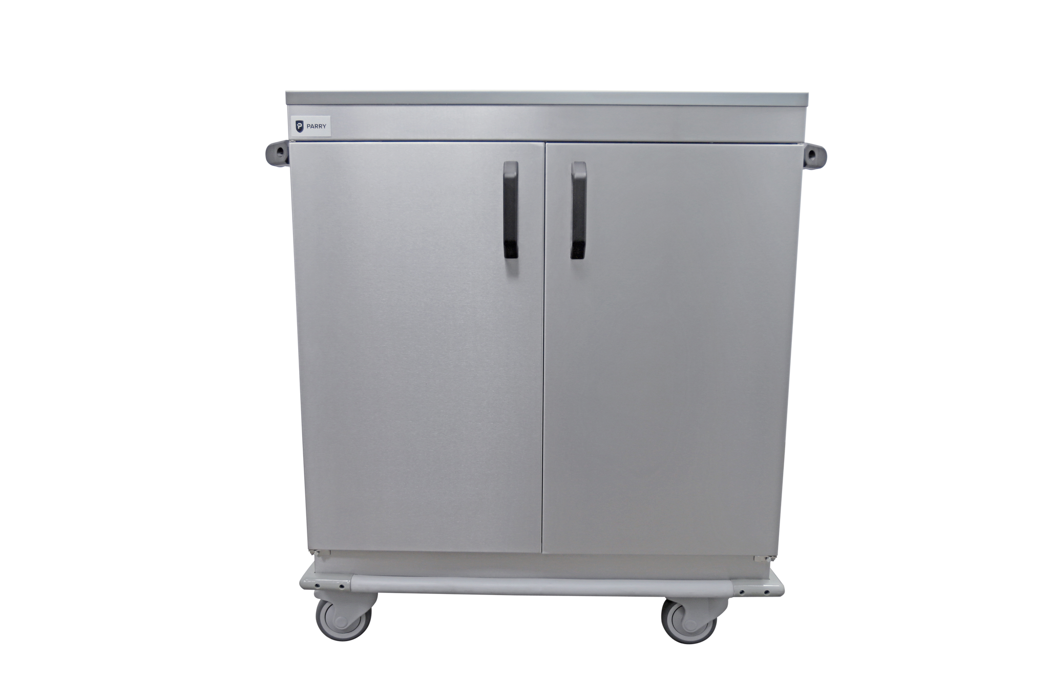 Parry Stainless Hinged Door Mobile Hot Cupboard