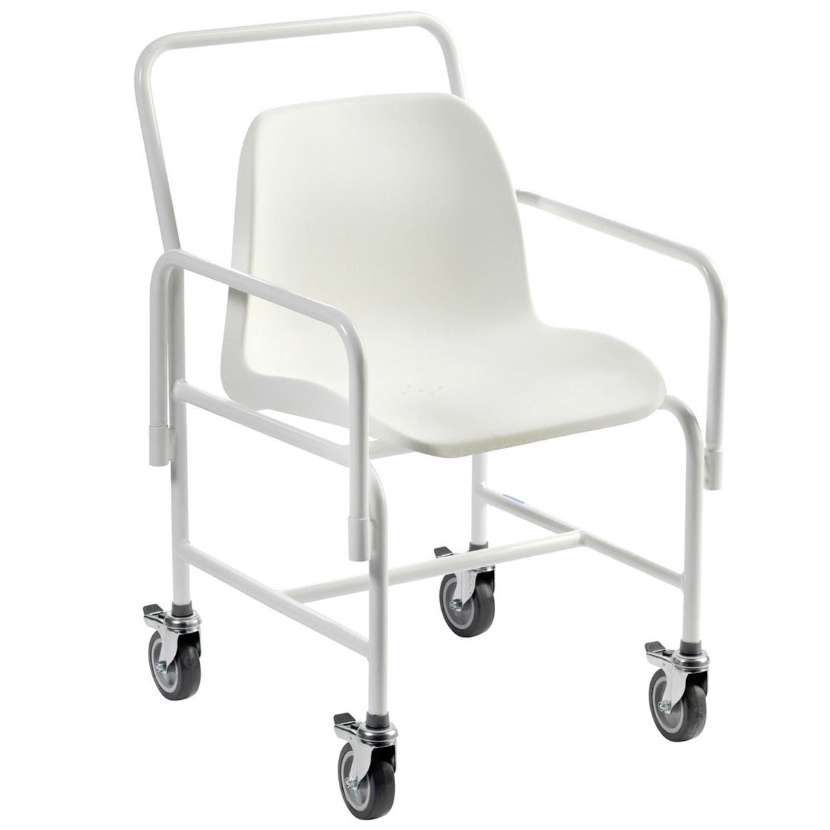 Hallaton Mobile Braked Fixed Height Shower Chair