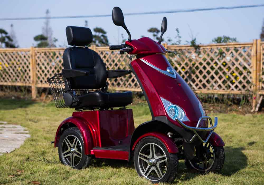 BL800 Luxury 4 Wheel Road Legal Mobility Scooter