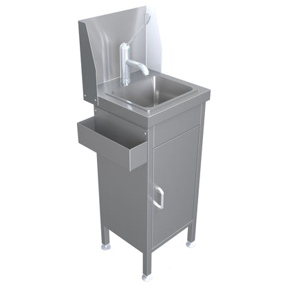 Parry Stainless Infection Control Mini Handwash Sink