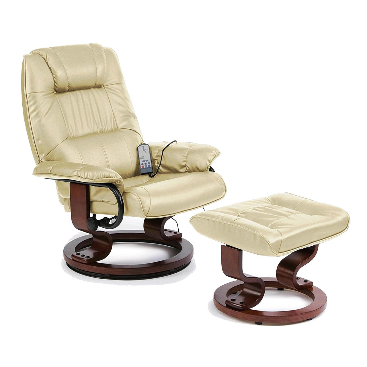 Napoli 360 Swivel Heated Massage Recliner Chair