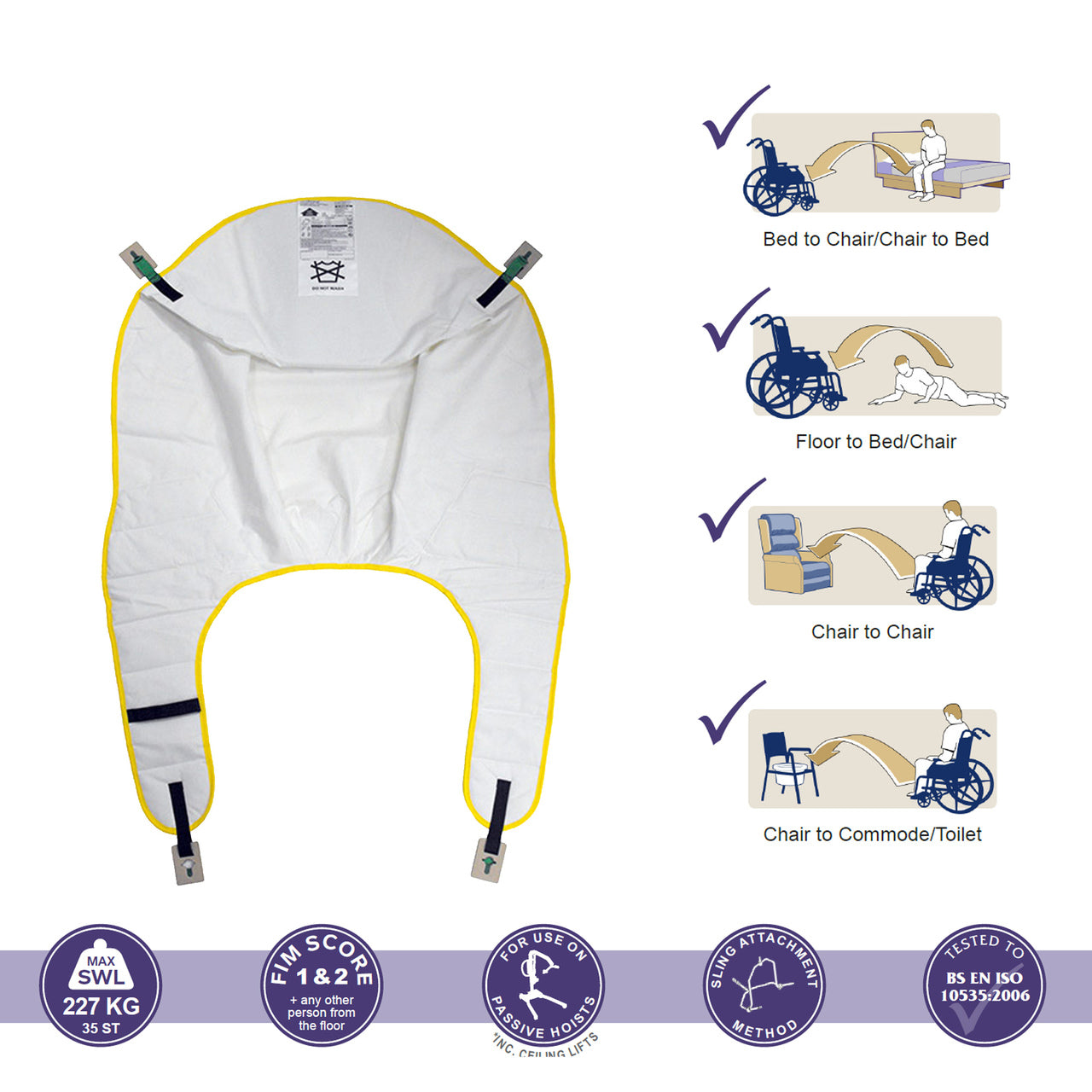 Oxford Securi3 Comfort Disposable Slings
