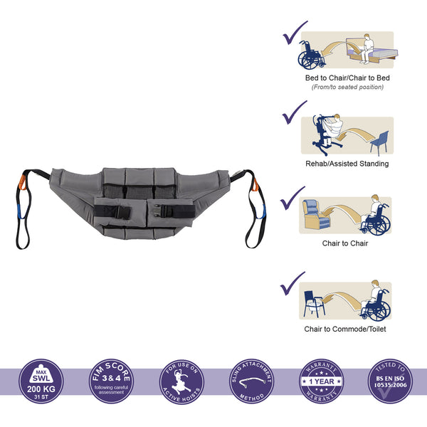 Oxford Deluxe Active Stand Aid Sling