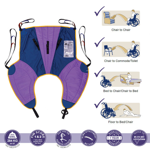 Oxford Multifit SL (Large thigh) Padded Sling