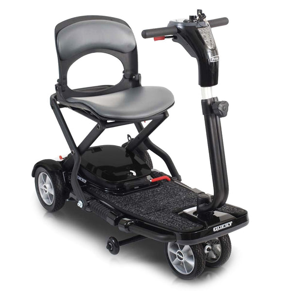 Pride Quest Folding One-Piece 4mph Travel Cruise/Airplane Scooter