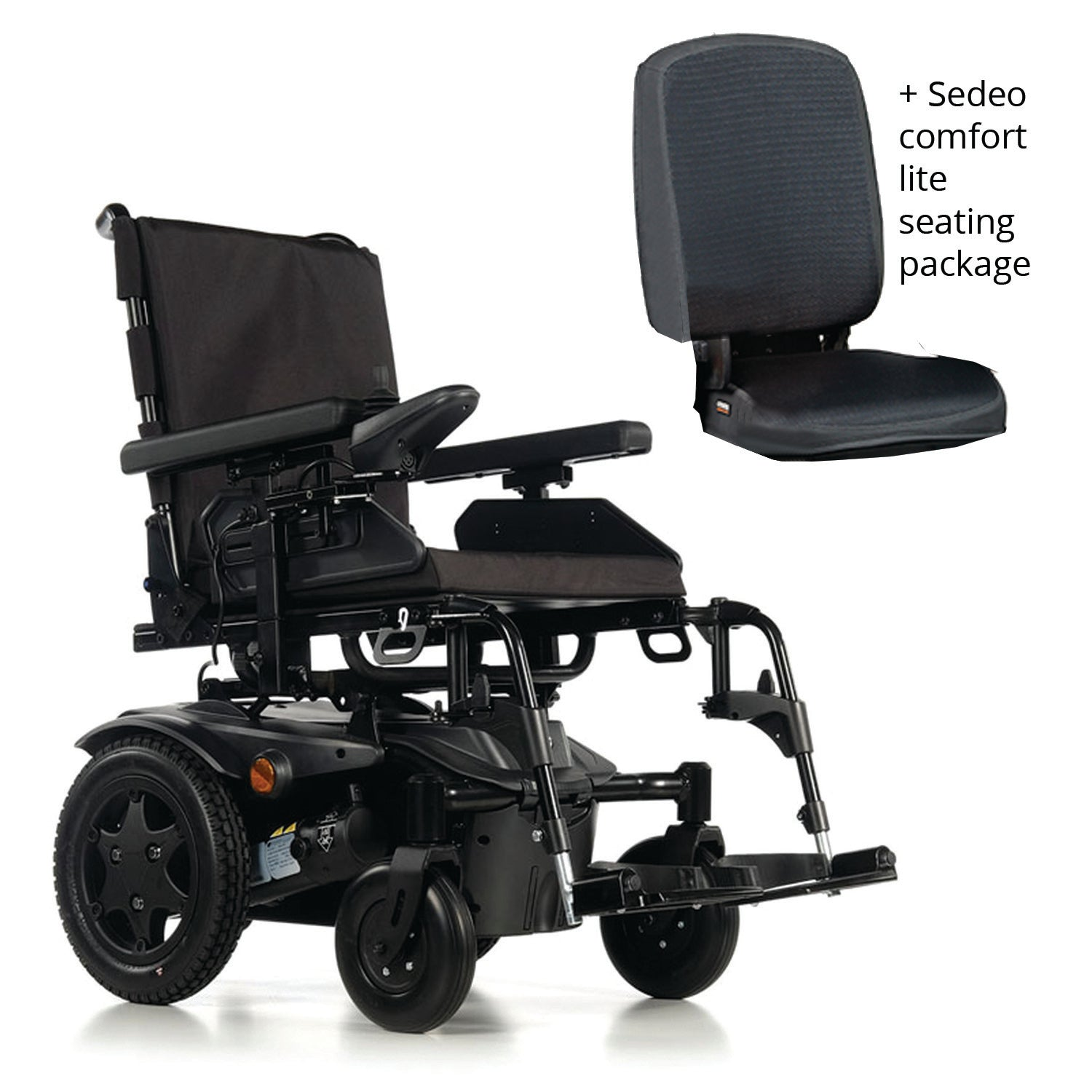 Quickie Salsa Q100R Pre-Configured Power Chair