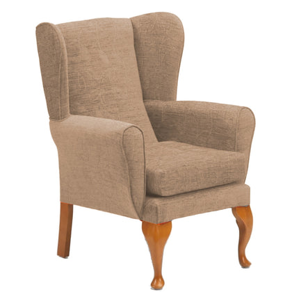 Queen Anne Elegant Fireside Chair