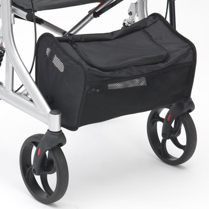 Drive Folding Lightweight Suspension Rollator with Seat and Backrest