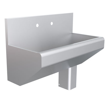 Parry Medical-Grade Stainless Scrub Sink With Upstand