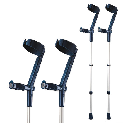 Rebotec Safe In Crutches (Pair)