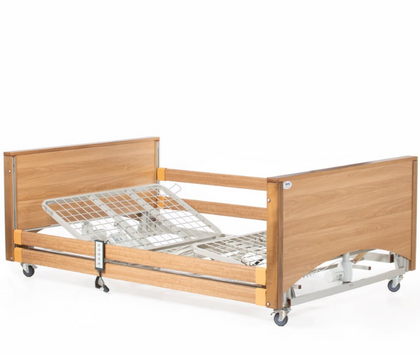Alerta Lomond Bariatric Profiling Care Bed - Oak