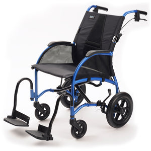 TGA Strongback Posture Supporting Attendant Wheelchair