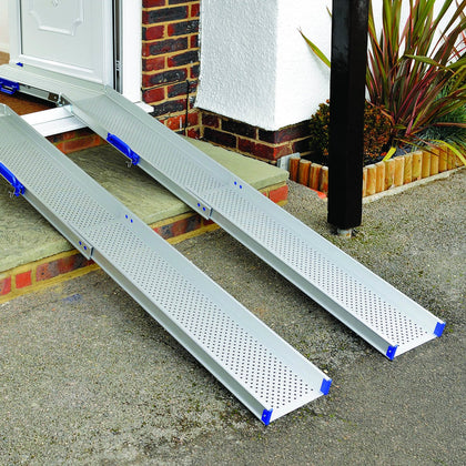Ultralight Folding & Telescopic Lightweight Portable Combi Ramp