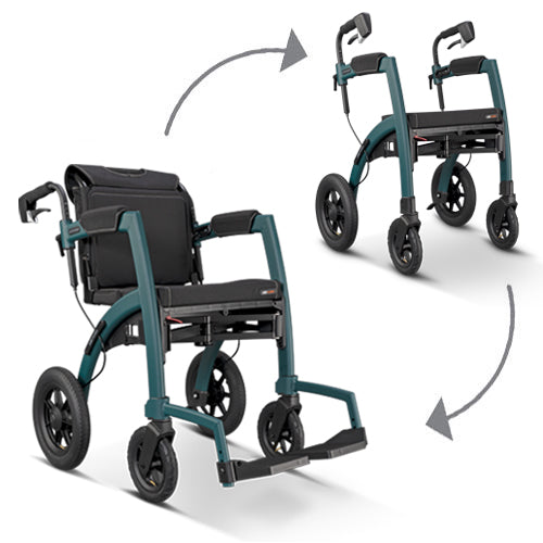 Rollz Motion Performance - All Terrain Rollator and Wheelchair