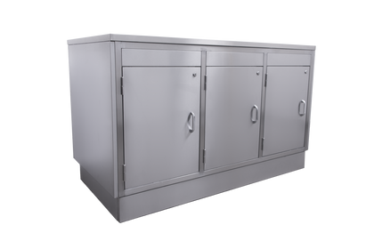 Parry Stainless 3 Door Counter Cabinet