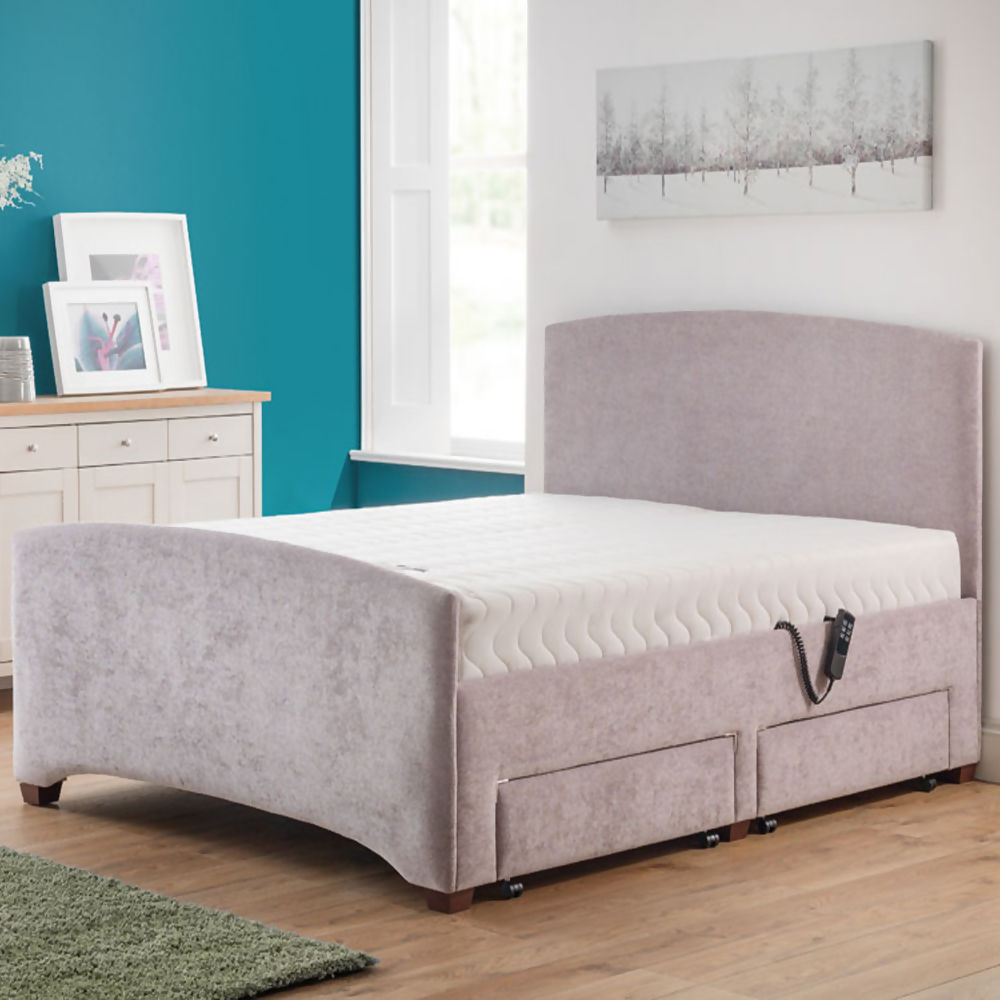Broadwell British Electric Adjustable Bed Package