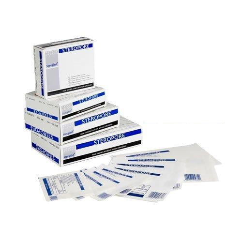 Steroplast 6805 Steropore, Adhesive Wound Dressing, 8.6 cm x 6 cm