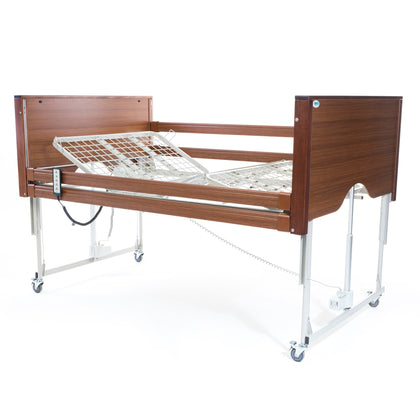 Alerta Encore Bariatric Profiling Care Bed - Walnut