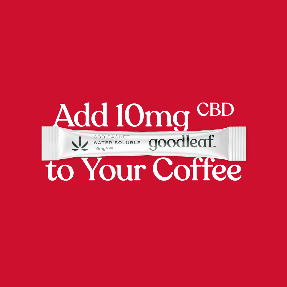 add 10mg CBD to your coffee