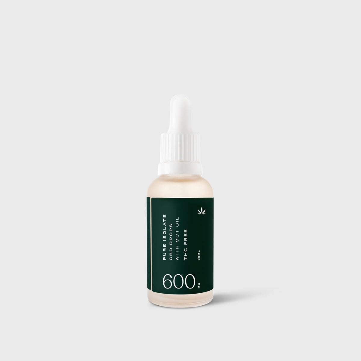 Goodleaf Oil Drops Isolate - 600mg 30ml