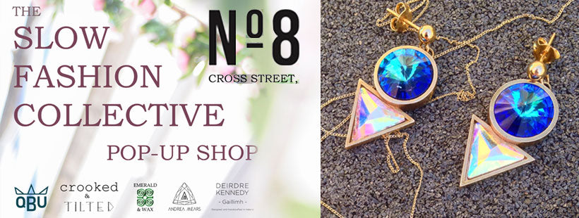 Andrea Mears Jewellery pop up in No.8 Cross Street, Galway