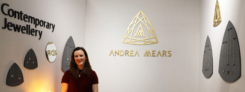 Andrea Mears jewellery exhibited at Showcase 2020 in the RDS