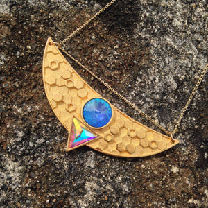 Egyptian Goddess Necklace - Cosmic Blue Pre-order
