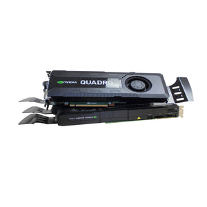 LOT OF 2 | NVIDIA Quadro K5000 Graphics Card | 4GB DDR5 | 256bit | C2J95AA