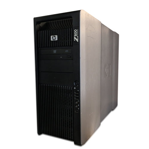 Hewlett Packard | Z800 Workstation | Xeon E5620 @ 2.40GHz | 1TB HDD | WIN 10 Pro