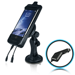 Smoothtalker Cradle BTHAL62MFCAS iPhone 8 | 7 | 6s - Window Mount - Cig Lighter Charging - Point to Point Distributions