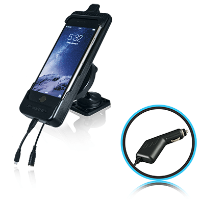 SmoothTalker Cradle BTHAL72MFCA - Apple iPhone 8Plus | 7Plus - Dashmount - Cig Lighter Charging